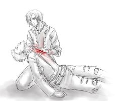 Sketch 1: It stopped beating.. by mesitka