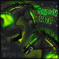 Cosmic Gate at Arctic Night by QueenHalloween