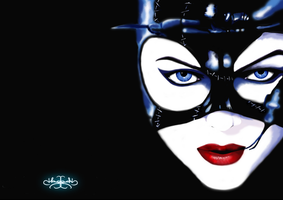 Catwoman Speed Paint by Hazey1988