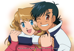 Duo of Stars -amourshipping- by NoVaNoah