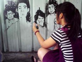 I Do It On The Wall by zienta