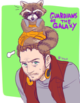 rocket and starlord by yahuxx28