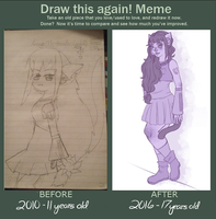 Draw this again meme by Vocaloid105