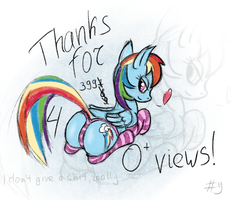 4k views, lol by BanShee42Ru