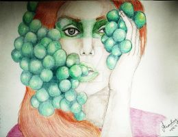 Grapes by AnoushayKhan