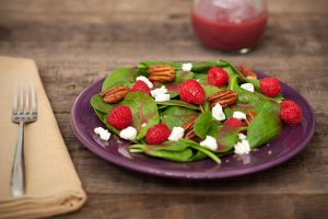 Raspberry Salad by VadePhotography