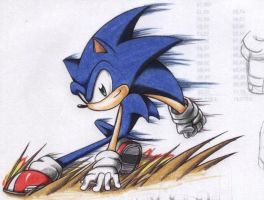 sonic... by shadics