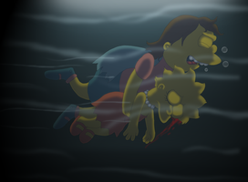 Saving Lisa by cyngawolf