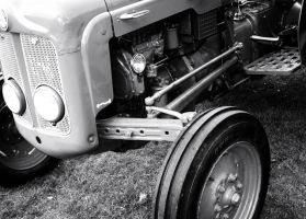 Monochrome Tractor by jemmings19