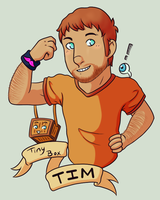 Tiny Box Tim by Nero-TheDevilBringer