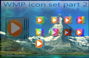 WMP Icon set part 2 by tonev