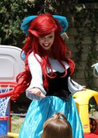 Ariel dancing on human legs! by TheRealLittleMermaid