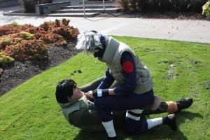 Kakashi and Gai sensei by Suki-Cosplay