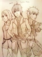 Naruto x Kingdom Hearts by Ragginess