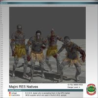 Majinis RE5 Natives by Adngel