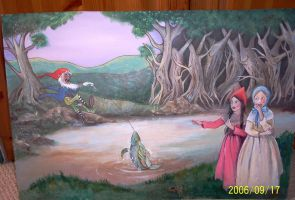 Snow White and Rose Red. Tales by eiragwyn