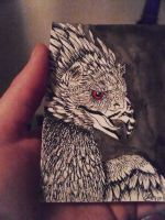 ATC Sized Griffin For Sale by InuRyoko