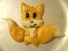 Tails made out of candy clay by Blissthehedgehog