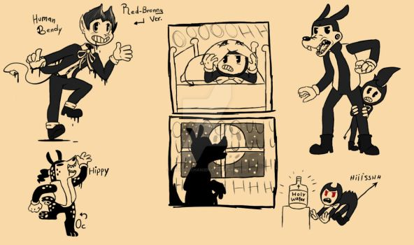 BATIM: Random sketches by Crystalchan2D