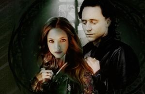 Sigyn and Loki by Herm-Mudblood