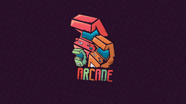 Arcade @ Logotype / Wallpaper by playaone