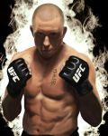 "Georges ""Rush"" St-Pierre by King-Arsalan-Monawar"