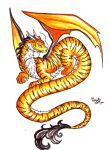 Tiger dragon by Brigitteann