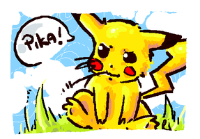 Pikachu by rir