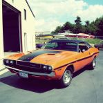 Classic Dodge Challenger Timeline #1 by OkamIGrey