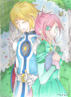 A Knight and His Princess by Shinomori-Misao