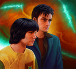 2011 Ten and Adric by harbek
