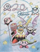 Happy 20th, Kirby! by Twinkie5000
