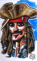 Captain Jack Sparrow by Chad73