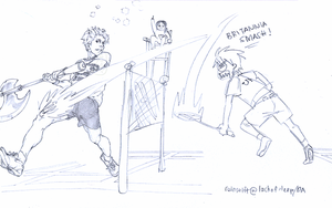 Thomas Cup showdown by Firnheledien