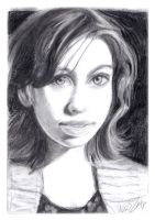 Graphite Drawing by AndrewLaFish-Arts