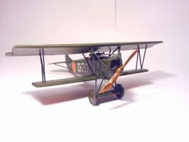 Dutch Fokker D.VII MLD 012 by BlokkStox