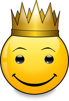 Smiley Archetype 'The King' by mondspeer
