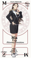 Mia Fey Pactio Card by chachaXevaXjeffrey