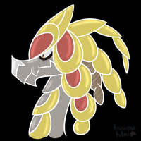 Doodle - Kommo-o by Blue-Lopunny