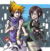 +TWEWY+ Buddies in Shibuya by zetina