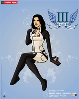 TRDL- Miranda Lawson by TRDLcomics