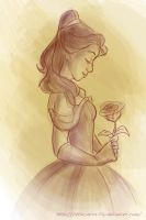 Belle by Lily-the-Animator
