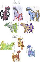 Arceus Adoptables CLOSED by CTMTF