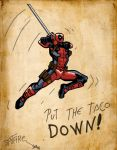 Deadpool by Johny--Spitfire
