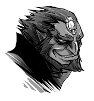 WW Ganon sketch by peachiekeenie