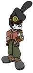 Steampunk Oswald Finshed Image by sonicxjones