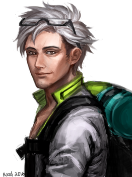 PokeGO: Professor Willow by Roadccan