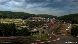 Spa-Francorchamps by h0er