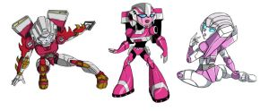 Arcee Stickers by Ty-Chou