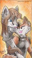 Forever you and me by Pharaonenfuchs